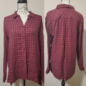 Michael Stars Boyfriend Flannel Shirt